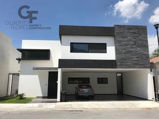 GF ARQUITECTOS Eengezinswoning Gewapend beton Wit