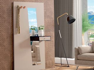 Decordesign Interiores Коридор, коридор і сходиГачки для одягу та стенди