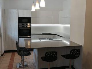 Formarredo Due design 1967 Cocinas modernas: Ideas, imágenes y decoración Blanco