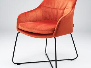 Stuhl CASPAR designed by Sven Dogs for WON Design sven dogs WohnzimmerHocker und Stühle Naturfaser Rot