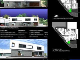 arquitectura+proyectos 미니멀리스트 서재 / 사무실 철근 콘크리트 화이트