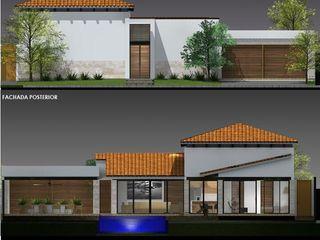arquitectura+proyectos 빌라 철근 콘크리트 화이트