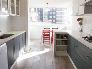 Crescente Böhme Arquitectos Ankastre mutfaklar Seramik Beyaz