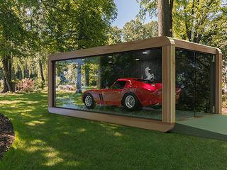 CUBE Homes Car Dealerships Wood