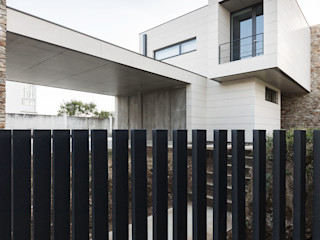 AD+ arquitectura Maison individuelle Pierre Beige