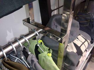 Mobiliario comercial de acero inoxidable Metalistería Ballesteros SL Oficinas y tiendas Hierro/Acero Metálico/Plateado