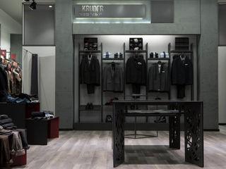 DUOLAB Progettazione e sviluppo オフィス&店 コンクリート 灰色