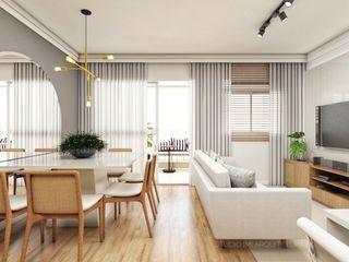 Studio M Arquitetura Comedores de estilo moderno