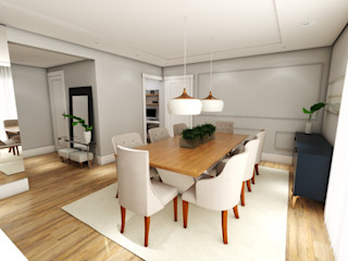 Studio M Arquitetura Comedores de estilo clásico
