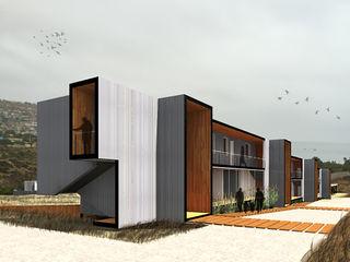 Crescente Böhme Arquitectos Bungalows Aluminium/Zinc Grey