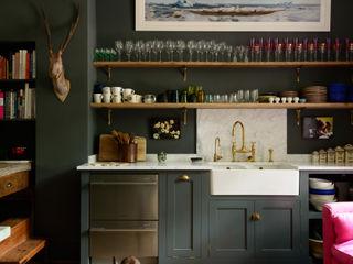 deVOL Kitchens Кухня Масив Сірий