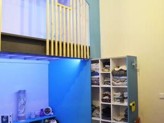 Kauri Architecture Jongenskamer Hout Blauw