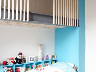 Kauri Architecture Moderne kinderkamers Hout Blauw
