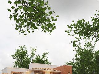 White Arquitectos Терасовий будинок Бетон Бежевий
