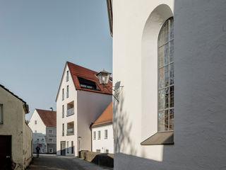Stadt Land Bach Sehw Architektur Moderne Häuser