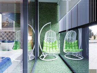 ICON INTERIOR Pasillos, vestíbulos y escaleras de estilo clásico