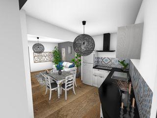 Crhome Design Modern style kitchen