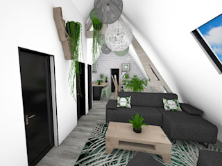 Crhome Design Living room