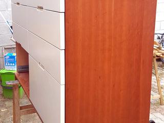 Restyling arredamento di un appartamento Dilegno InLegno Sala da pranzo moderna Legno composito Marrone