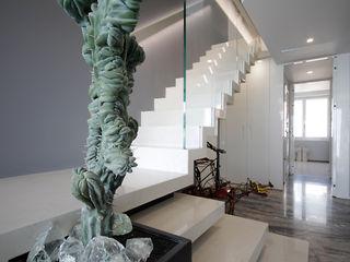 studiodonizelli Treppe Marmor Weiß