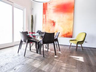 Magri Parquet Modern dining room Grey