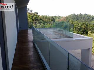 Villa panoramica a Minturno (LT) Technowood srl Case moderne Legno