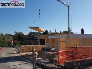 Multipiano in Xlam a Sacrofano (RM) Technowood srl Condominio Legno