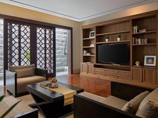 ARF interior Вітальня Дерево