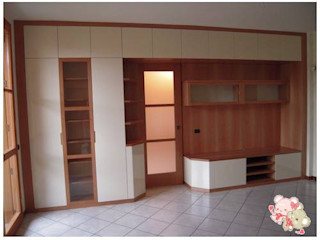 CORDEL s.r.l. 客廳餐具櫃 木頭 Multicolored