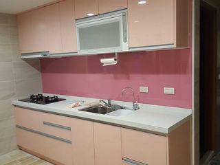 藝舍室內裝修設計工程有限公司 Cozinhas modernas Rosa