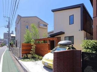 本と空を愉しむ階段の家 狛江の家 シーズ・アーキスタディオ建築設計室 一戸建て住宅 木 木目調