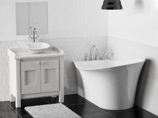 ZICCO GmbH - Waschbecken und Badewannen in Blankenfelde-Mahlow Minimalist style bathroom Marble White