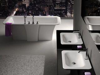 ZICCO GmbH - Waschbecken und Badewannen in Blankenfelde-Mahlow Industrial style bathroom Marble White