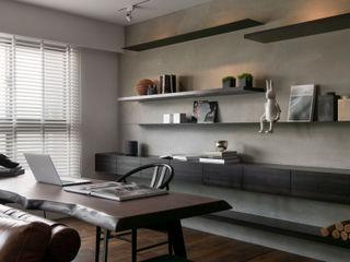邑田空間設計 Modern style study/office