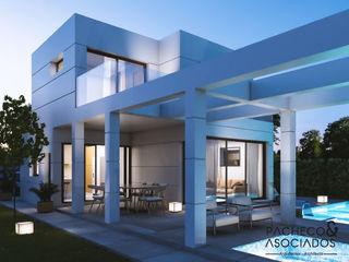 Pacheco & Asociados Multi-Family house White