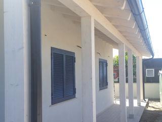 Casa in riva al mare - Fiumicino (RM) Technowood srl Casa di legno