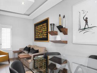 Deborah Garth Interior Design International (Pty)Ltd 書房/辦公室 實木 Yellow