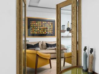 Deborah Garth Interior Design International (Pty)Ltd 書房/辦公室 木頭 Yellow