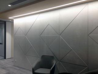 Banema S.A. Studio moderno Cemento Grigio