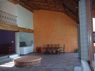 SERCOYDE SA DE CV Casas de campo Madera maciza Naranja