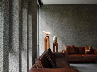 黃耀德建築師事務所 Adermark Design Studio Paredes y pisos de estilo minimalista