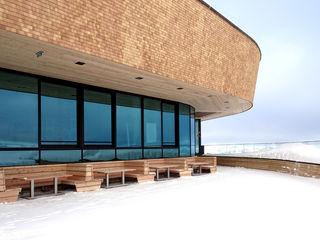BERGSTATION SPIELJOCHBAHN BESTO ZT GMBH_ Architekt DI Bernhard Stoehr Moderne Häuser