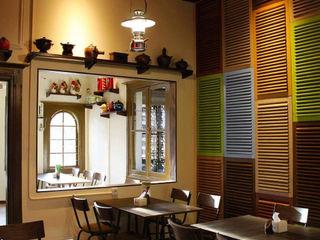 Likha Interior Gastronomy Plywood Multicolored