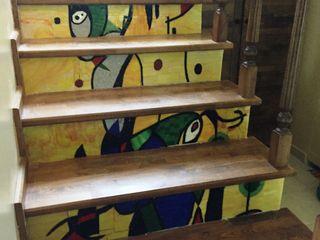 Mozaik Sanat Evi Corredor, hall e escadasEscadas Azulejo