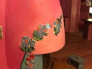 Mozaik Sanat Evi Paisagismo de interior Azulejo