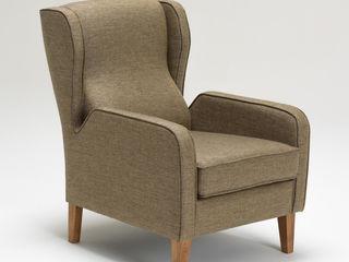 K105 Mobilya Pazarlama Danışmanlık San.İç ve Dış Tic.LTD.ŞTİ. Living roomSofas & armchairs Gỗ Brown