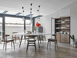 AL-house GIAN MARCO CANNAVICCI ARCHITETTO Modern Dining Room