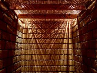 Daniel Cota Arquitectura | Despacho de arquitectos | Cancún Modern corridor, hallway & stairs Bricks Brown