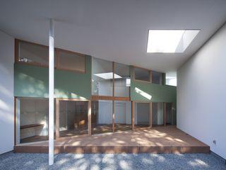 藤原・室 建築設計事務所 Einfamilienhaus Holz Grün
