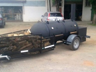 Smoke Kit BBQ 花園火坑與燒烤 鐵/鋼 Black